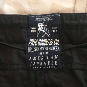 PRPS & Co Black Pants with a lot of details!!!